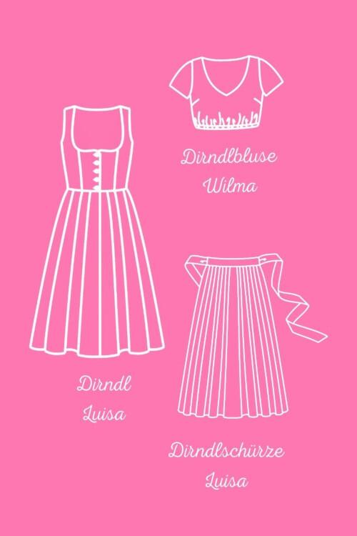 Blog Outfit Luisa Dirndl-Nähbuch Ayse Westdickenberg