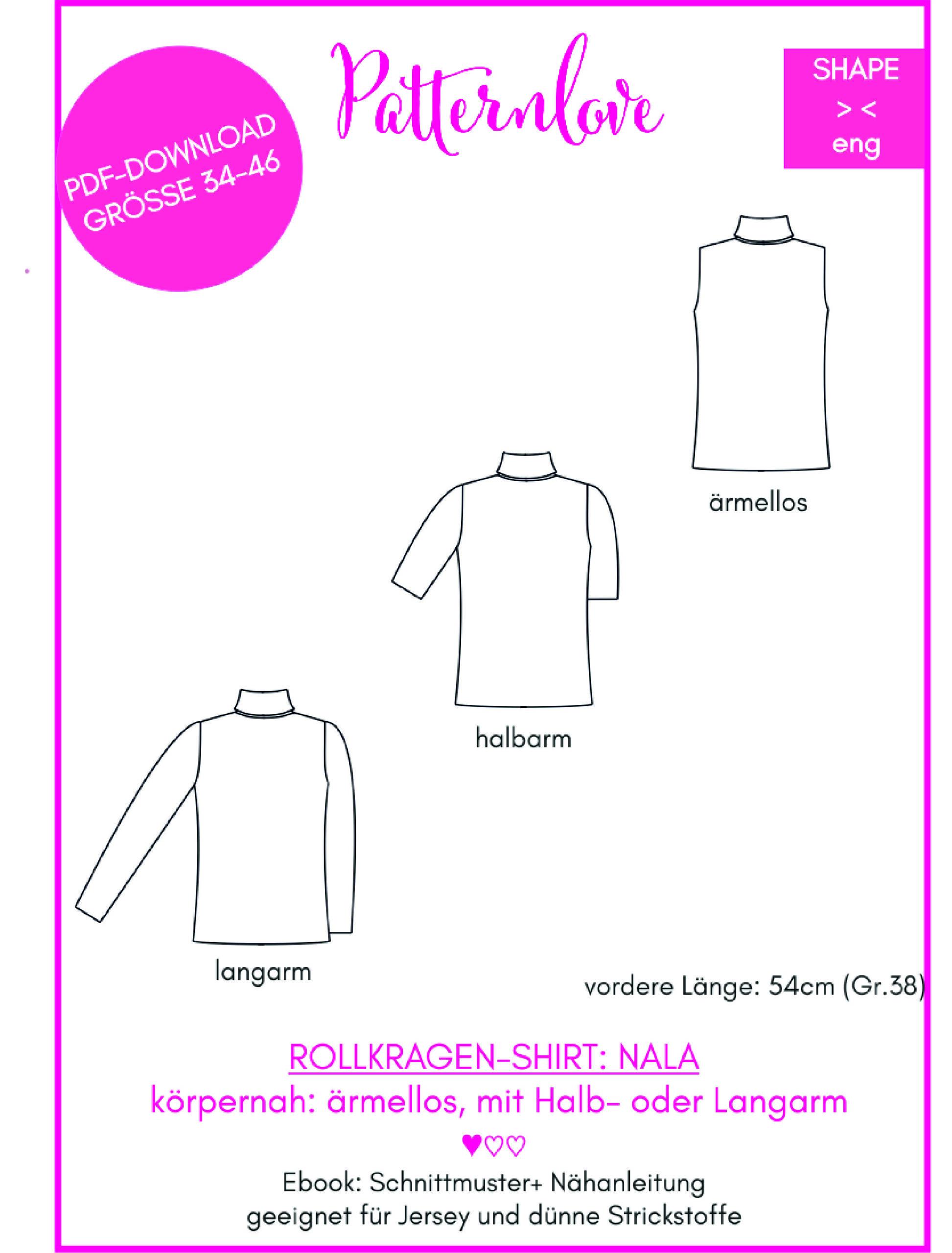 Nähkurs Rollkragen-Shirt Ayse Westdickenberg